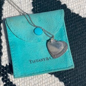 Tiffany & Co double heart ❤️ necklace